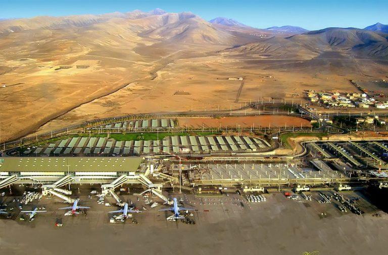 Ampliación del Nuevo Edificio Terminal del Aeropuerto de Fuerteventura